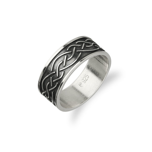 Celtic Silver Ring XR403