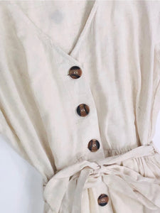 BOHO CHICA BUTTON DOWN DRESS