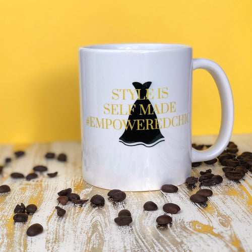 STYLE IS SELF MADE COFFEE MUG