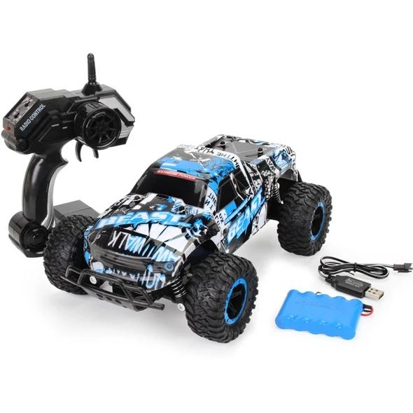 (50% OFF TODAY)1:16 RC Car Off-Road Rock - 4X4 MONSTER TRUCK