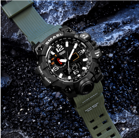 (Buy 2 Free Shipping+50% OFF!!)Waterproof Men Military Watch