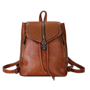 Women High Quality Leather Backpack