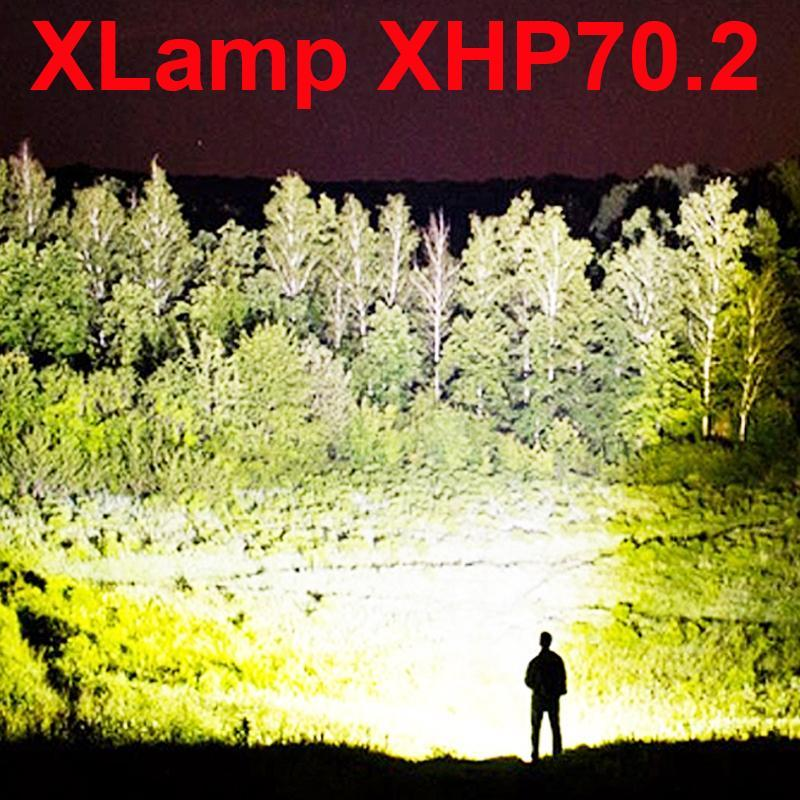 (Buy 2 Free Shipping+68% OFF!!)90000 lumens xhp70.2 most powerful flashlight