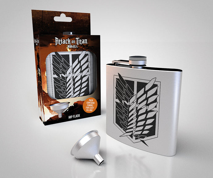 Attack On Titan Season 2 Scout Metal Hip Flask
