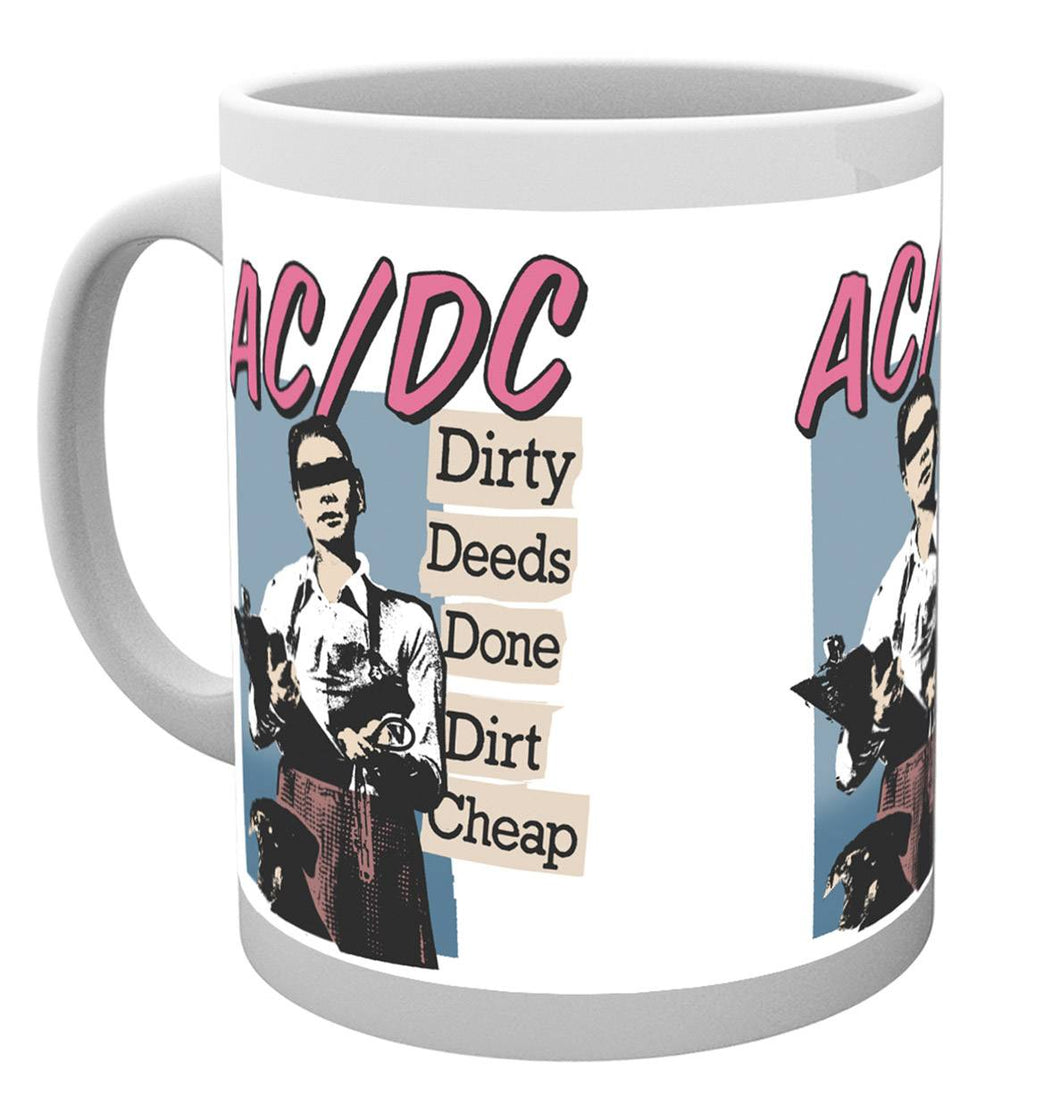 AC/DC Dirty Deeds Mug