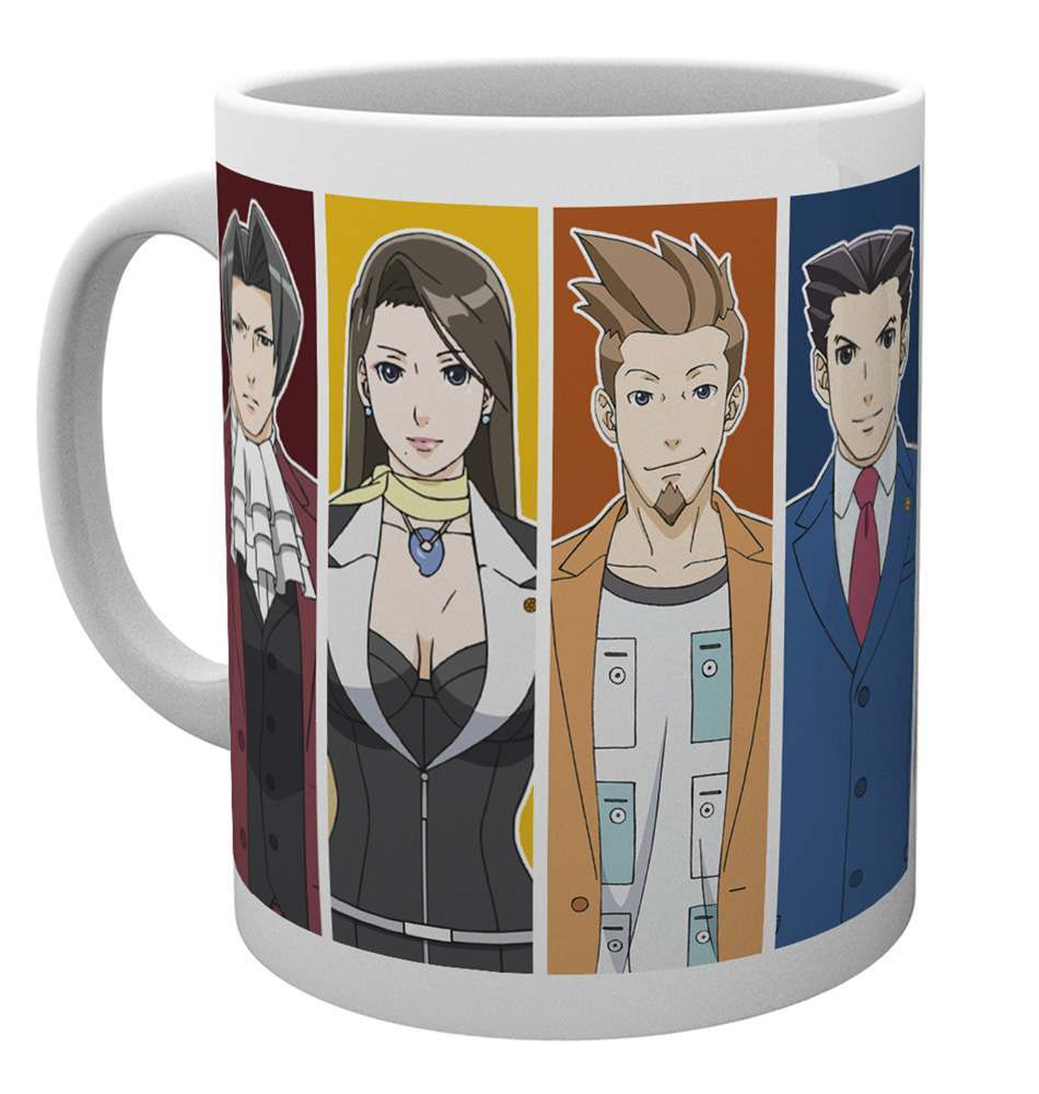 Ace Attorney Characters Mug