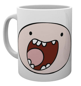 Adventure Time Finn Face Mug