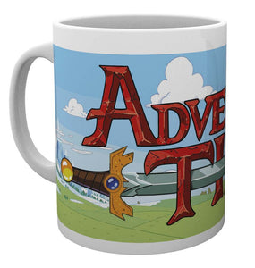Adventure Time Logo Mug