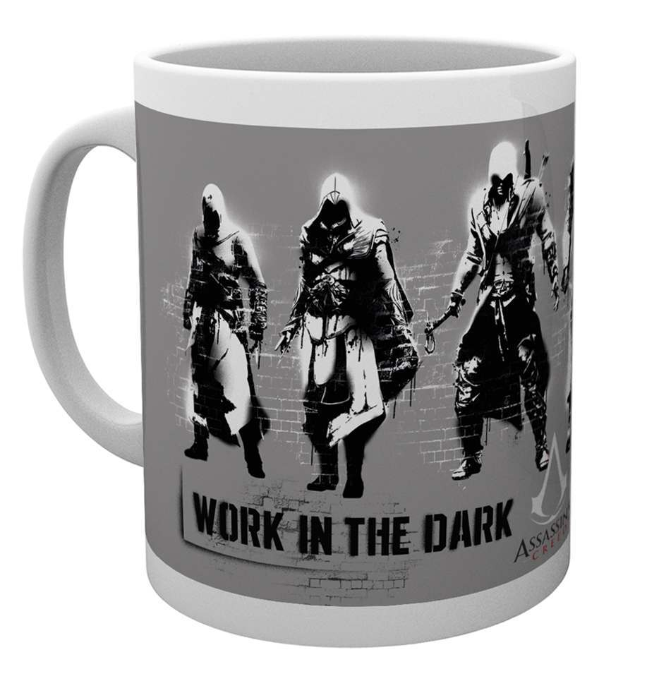 Assassins Creed Stencil Mug