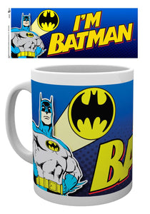 Batman Comic I'm Batman Bold Mug