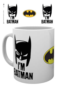 Batman Comic I'm Batman Cowl Mug