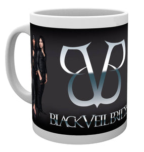 Black Veil Brides Band Mug