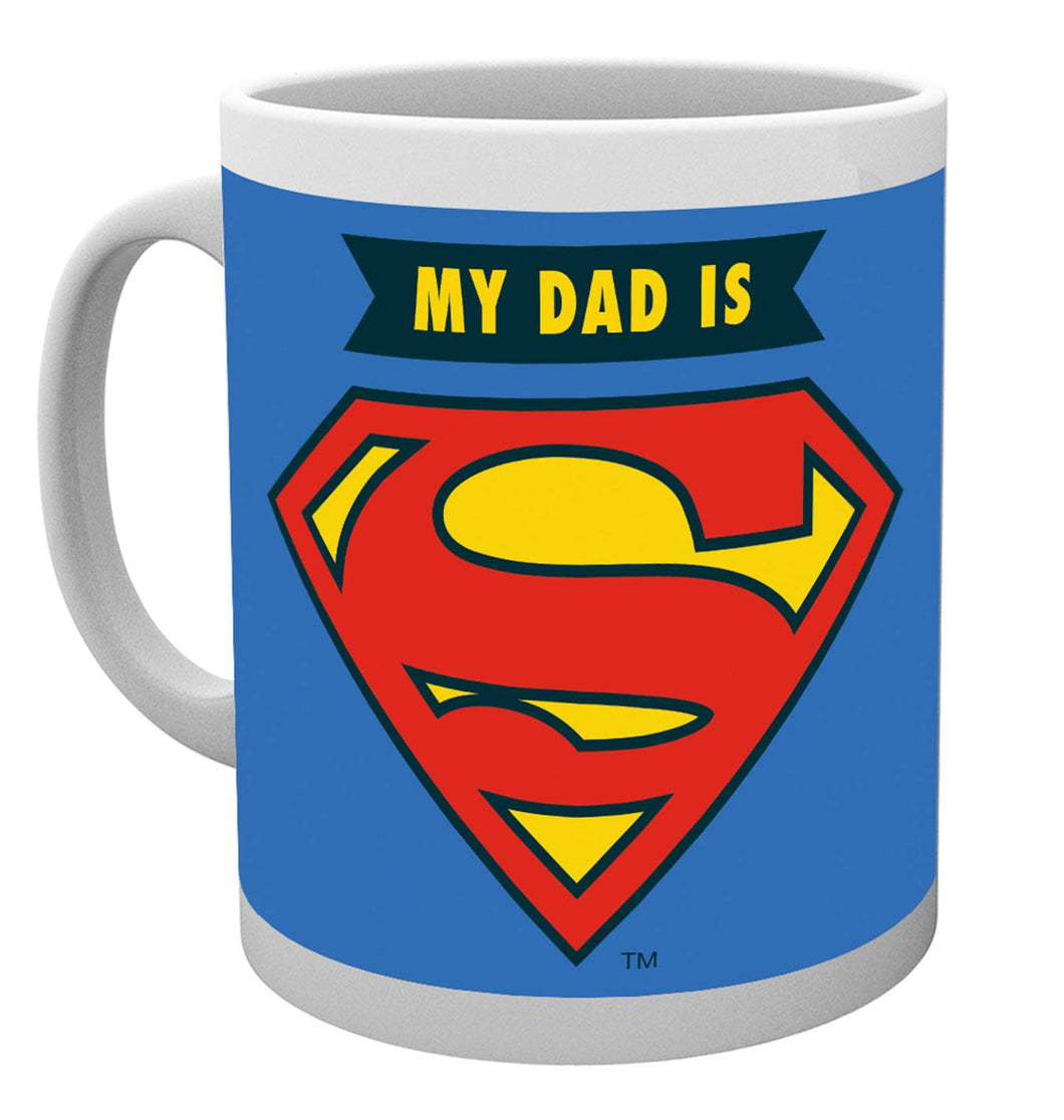 DC Comics Fathers Day Mug My Dad Is Superman Mug