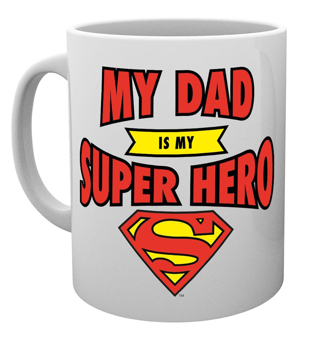 DC Comics Fathers Day Mug Superman Dad Superhero Mug