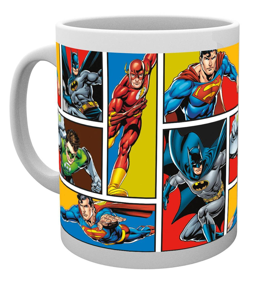 DC Comics Justice League Grid Mug