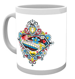 DC Comics Superman Sugar Logo Mug
