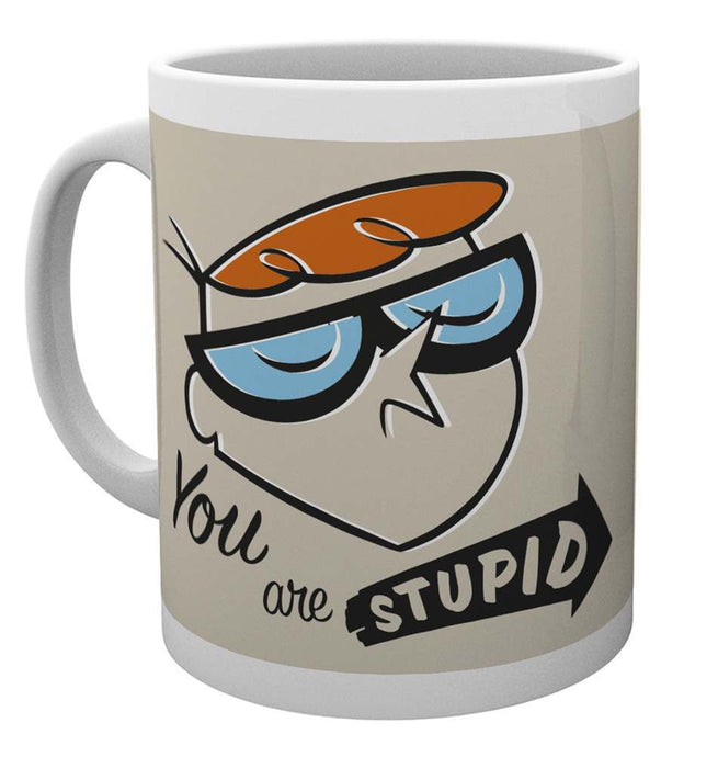 Dexter's Laboratory You Are Stupid Mug