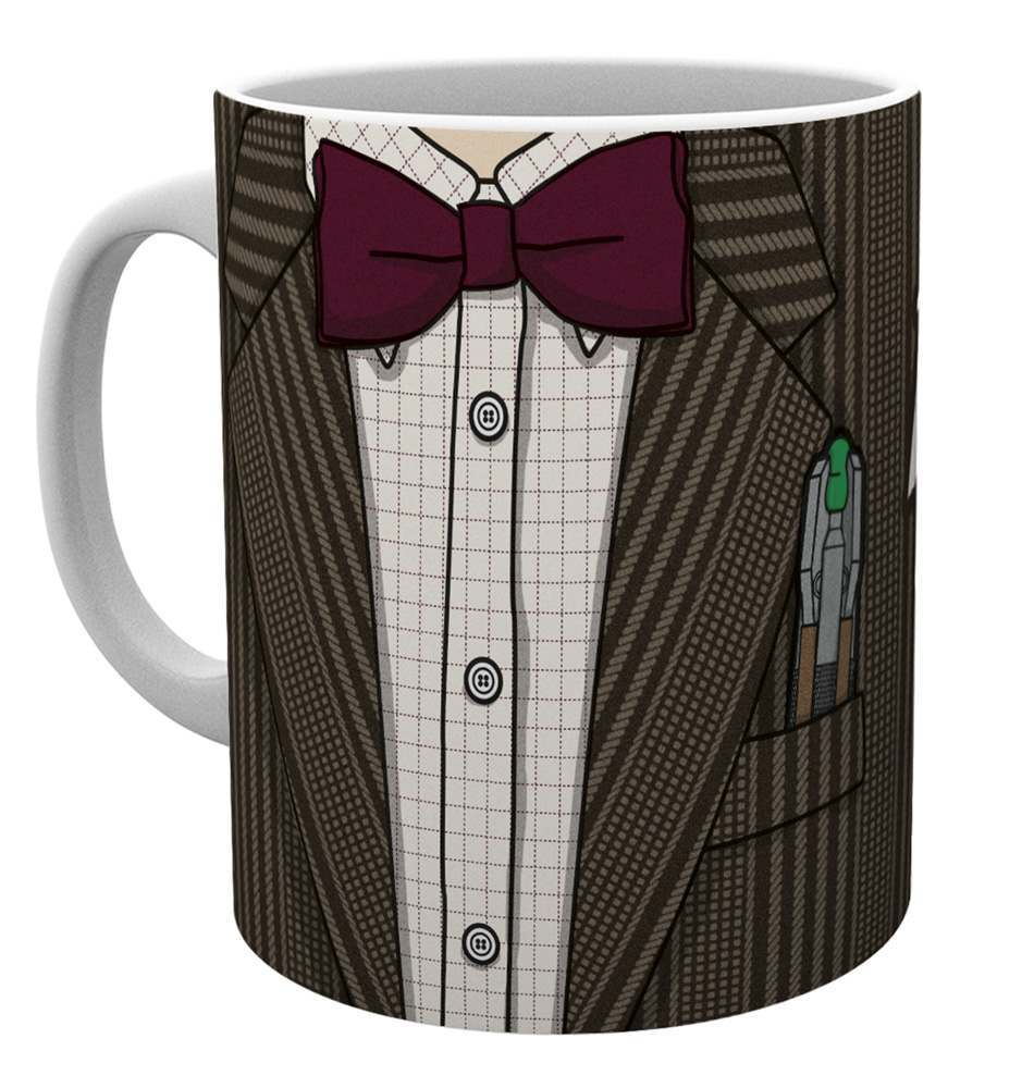 Doctor Who 11th Doctor Costume Mug