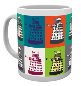 Doctor Who Pop Art Mug