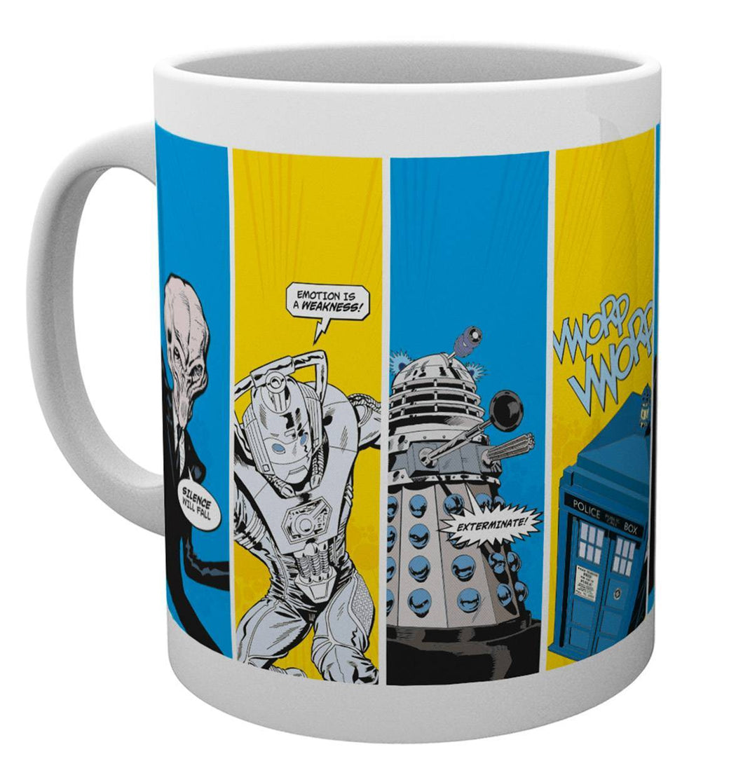Doctor Who Space Cadets Mug
