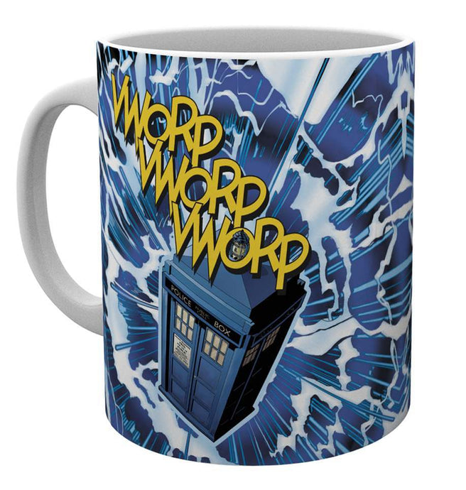 Doctor Who Vworp Mug