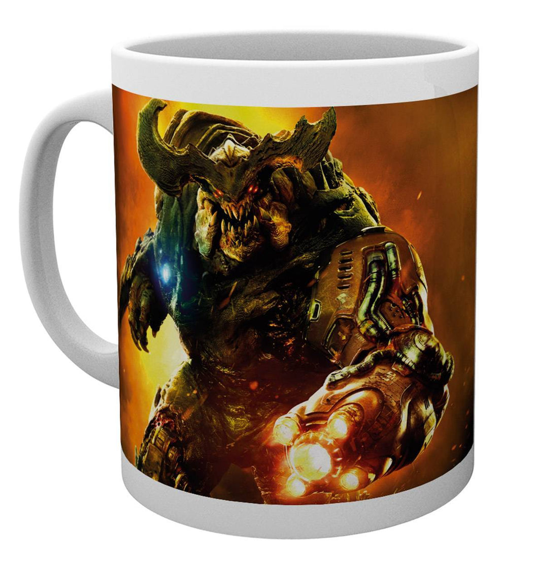 Doom Cyber Demon Mug