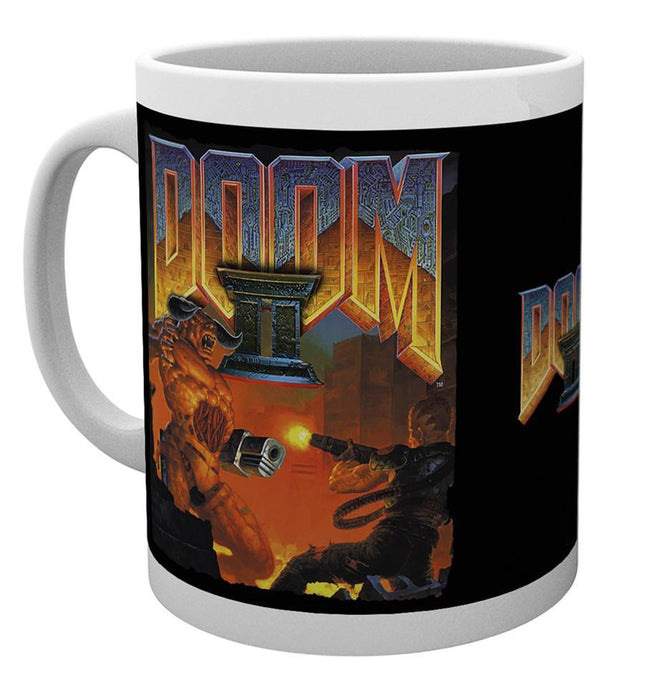 Doom Game Cover Mug