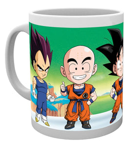 Dragon Ball Z Chibi Mug