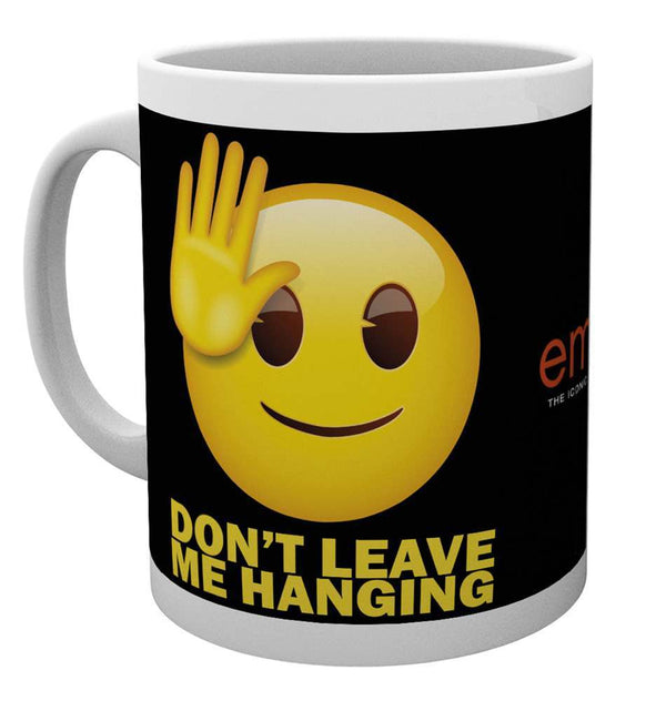 Emoji Don't Leave Me Hanging Mug