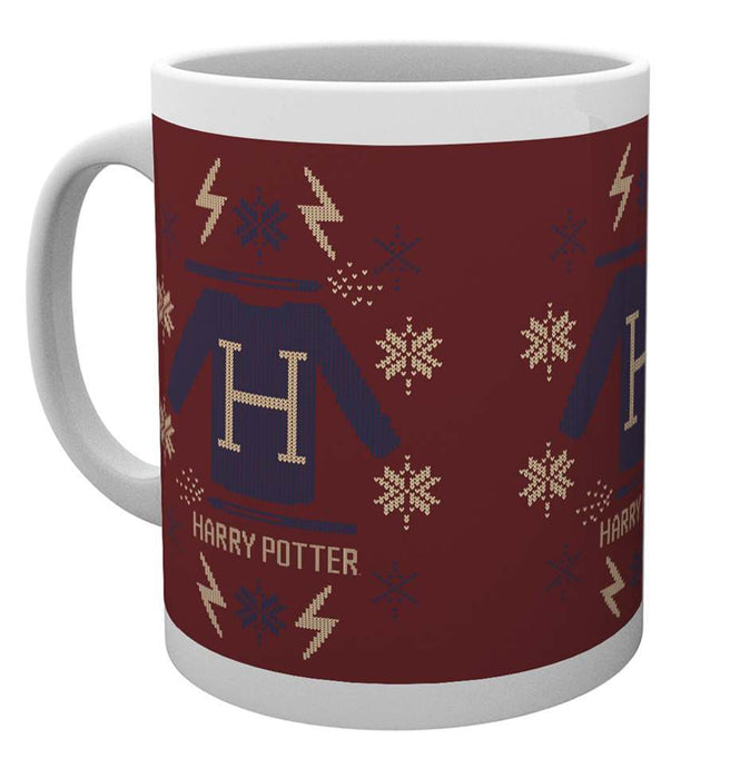 Harry Potter Xmas Jumper Christmas Mug