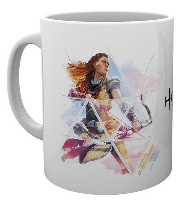 Horizon Zero Dawn Aloy Bow Mug