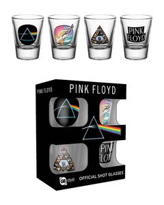 Pink Floyd Mix Shot Glasses
