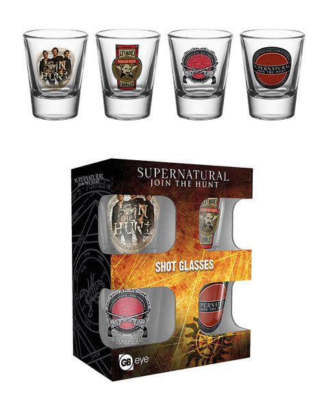 Supernatural Mix Shot Glasses