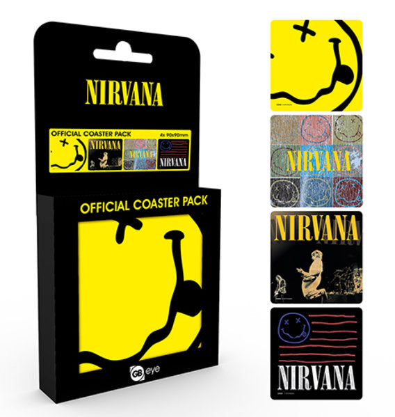 Nirvana Mix Coaster Pack