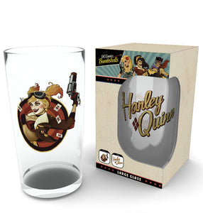 DC Comics Harley Quinn Bombshell Large Glass