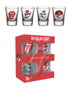 The Rolling Stones Mix Shot Glasses