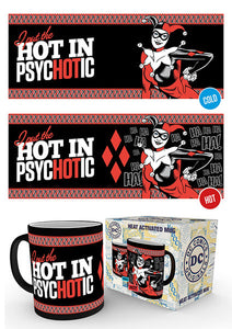 DC Comics Psychotic Heat Changing Mug