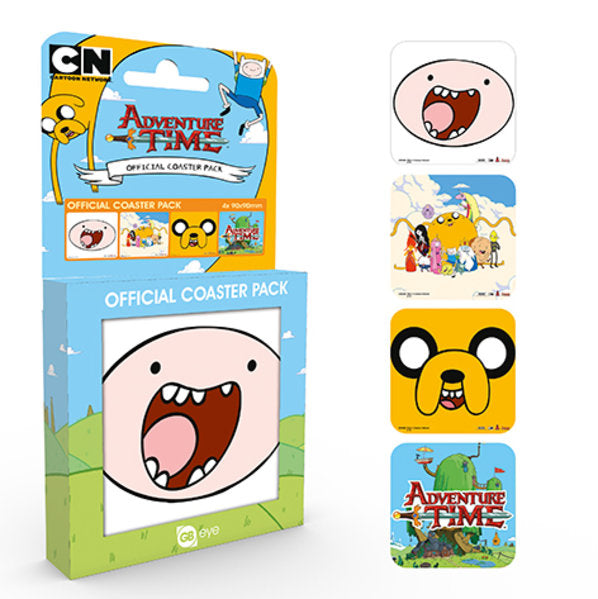 Adventure Time Mix Coaster Pack