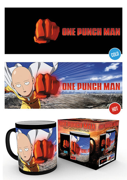 One Punch Man Saitama Heat Changing Mug