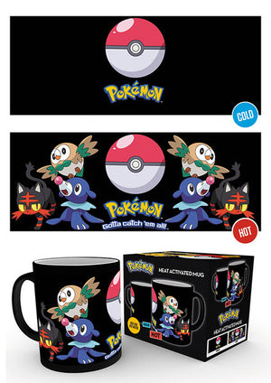 Pokemon Evolve Heat Changing Mug