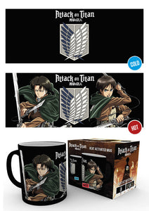 Attack On Titan Scouts Heat Changing Mug