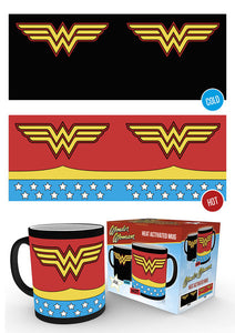 DC Comics Wonder Woman Costume Heat Changing Mug