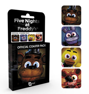 Five Nights at Freddy's Characters Coaster Pack