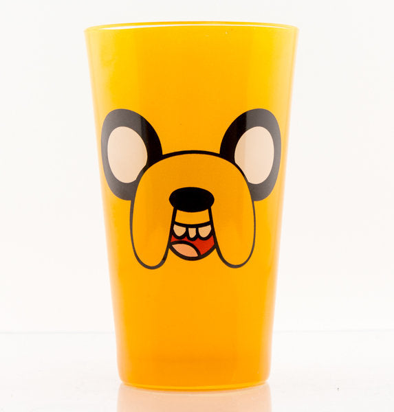 Adventure Time Jake Face Large Premium Coloured Glass