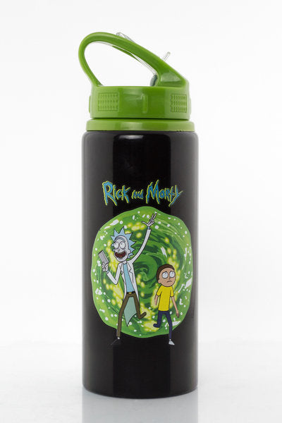 Rick and Morty Portal Aluminium Drink Bottle
