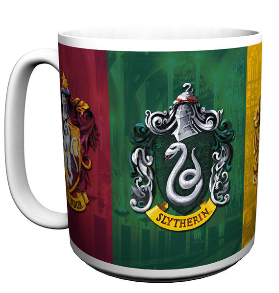 Harry Potter Crests Large Mug