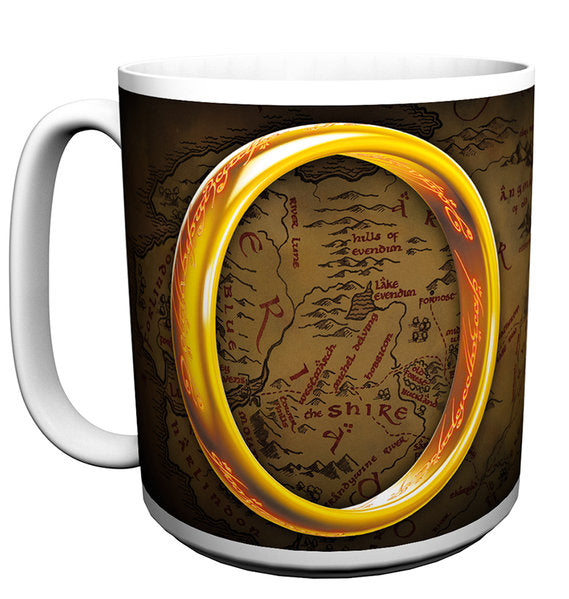 Lord Of The Rings One Ring Large Mug