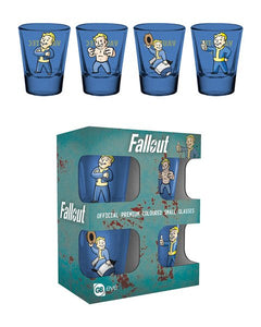 Fallout Vault Boy Shot Glasses