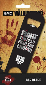 The Walking Dead Fear The Living Bar Blade