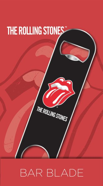 The Rolling Stones Logo Bar Blade